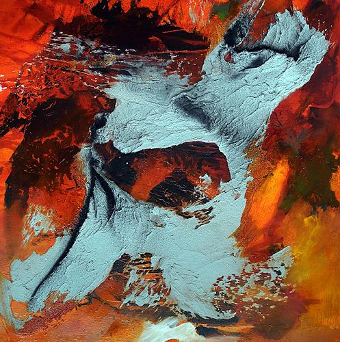 Ute Kleist, summerfeeling III, Emotions, Landscapes, Expressionism