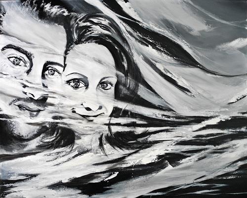 Ute Kleist, EINSSEIN, Symbol, Emotions: Love, Expressionism