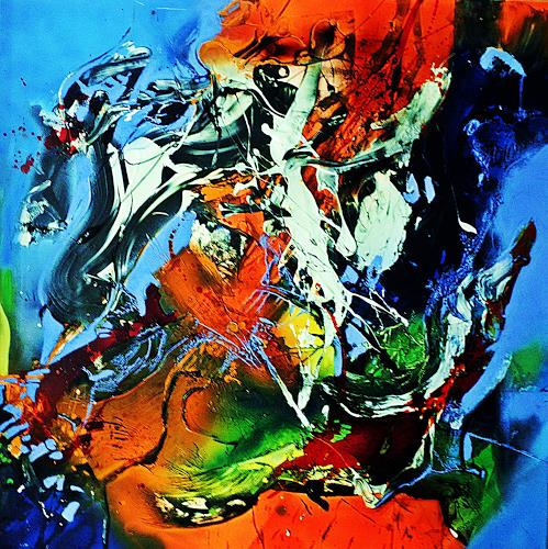Ute Kleist, It´s me, Abstract art, Emotions, Expressionism, Abstract Expressionism