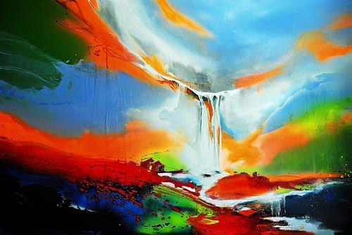 Ute Kleist, ALLES in ALLEM, Nature, Emotions, Expressionism