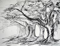 Ute-Kleist-Nature-Plants-Trees-Modern-Age-Expressionism