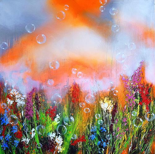 Ute Kleist, HIER.SEIN., Poetry, Nature, Expressionism