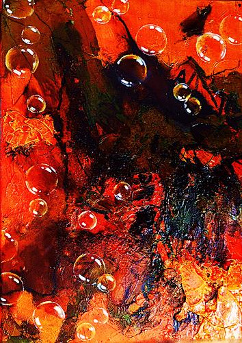 Ute Kleist, WANDERER II, Emotions, Movement, Expressionism