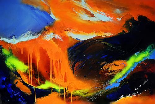 Ute Kleist, ALLES in ALLEM, Emotions, Nature, Expressionism, Abstract Expressionism