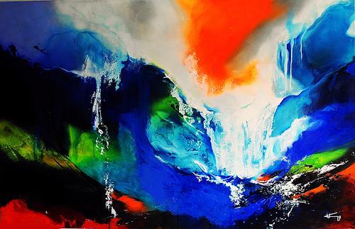 Ute Kleist, GEBEN UND NEHMEN - big size, Nature, Emotions: Love, Expressionism