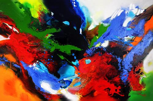 Ute Kleist, ENDE OFFEN.................., Belief, Emotions, Expressionism, Abstract Expressionism