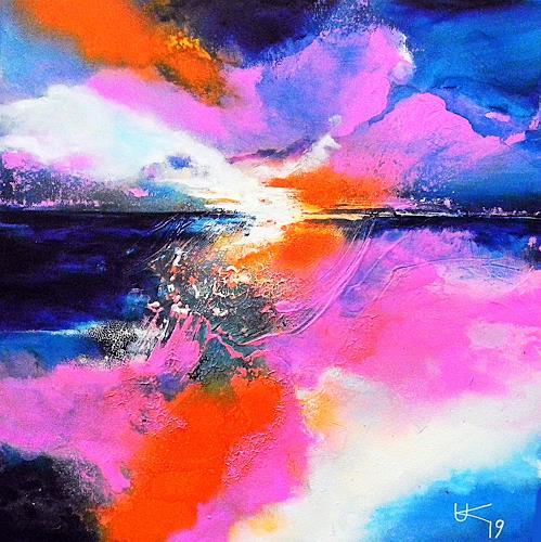 Ute Kleist, Feels like hope, Nature, Emotions, Expressionism