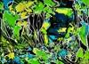 Ute Kleist, SITZLANDSCHAFT, Nature, Emotions, Expressionism