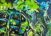 Ute Kleist, DIE LETZTE FAHRT, Nature, Emotions, Expressionism