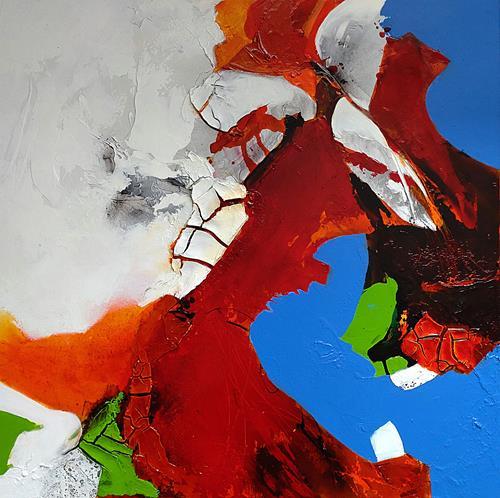 Ute Kleist, HERZBLUT, Abstract art, Emotions, Expressionism, Abstract Expressionism