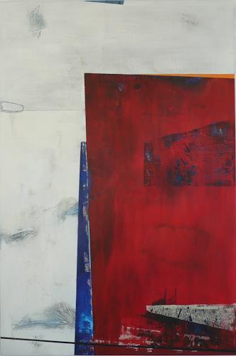 Eva-Maria Bättig-Schoepf, der Monolith, Abstract art, Abstract Art