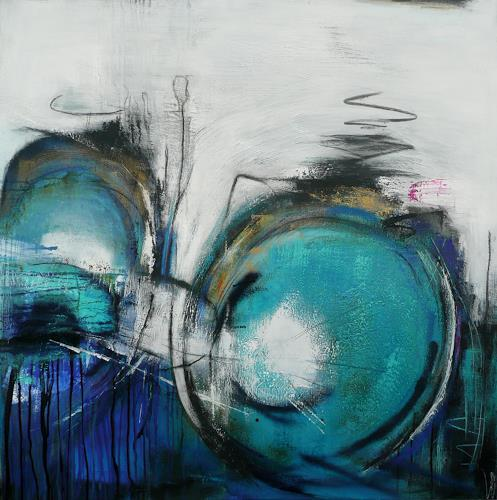 Eva-Maria Bättig-Schoepf, my bicycle, Abstract art, Abstract Art