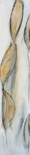 Eva-Maria Bättig-Schoepf, feine Spuren 1, Abstract art, Abstract Art