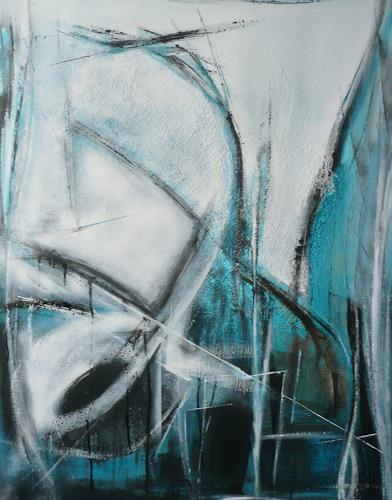 Eva-Maria Bättig-Schoepf, net working, Abstract art, Abstract Art