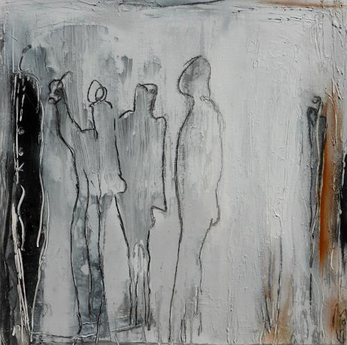 Eva-Maria Bättig-Schoepf, figures, Abstract art, Abstract Art