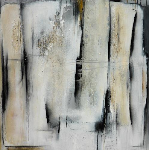 Eva-Maria Bättig-Schoepf, Licht und Schatten II, Abstract art, Abstract Art