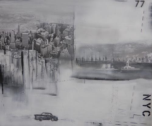 Eva-Maria Bättig-Schoepf, Have a nice trip II, Abstract art, Abstract Art, Expressionism