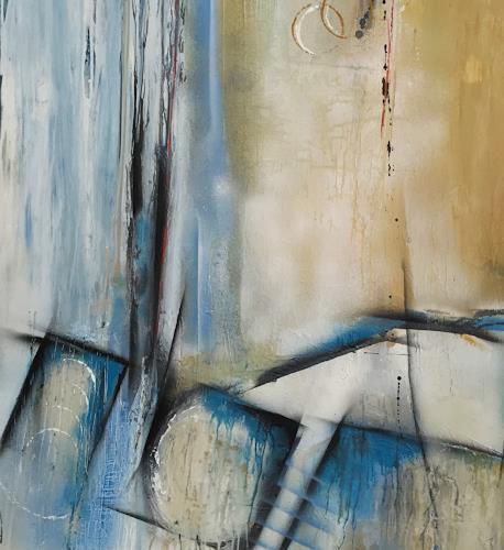 Eva-Maria Bättig-Schoepf, far away, Abstract art, Abstract Art