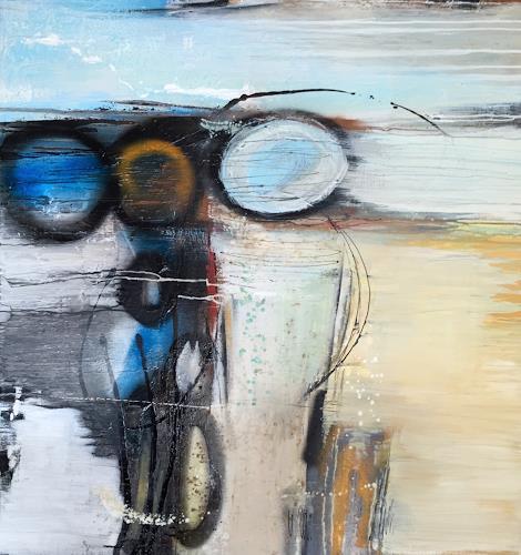 Eva-Maria Bättig-Schoepf, bubble games, Abstract art, Abstract Art, Expressionism