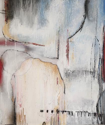 Eva-Maria Bättig-Schoepf, tender feelings, Abstract art, Abstract Art