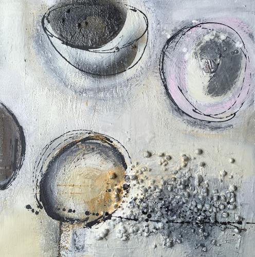 Eva-Maria Bättig-Schoepf, planet II, Abstract art, Abstract Art