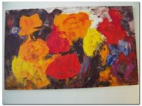 Kunstmuellerei-Abstract-art-Plants-Flowers-Modern-Age-Expressionism