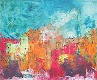 Kunstmuellerei-Landscapes-Summer-Landscapes-Hills-Contemporary-Art-Neo-Expressionism