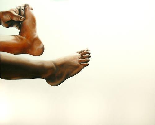 Alex Krull, o. T. (276), People: Children, Concrete Art, Expressionism