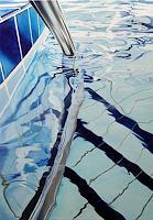 Alex Heil, o.T. (Schwimmbadtreppe 2)