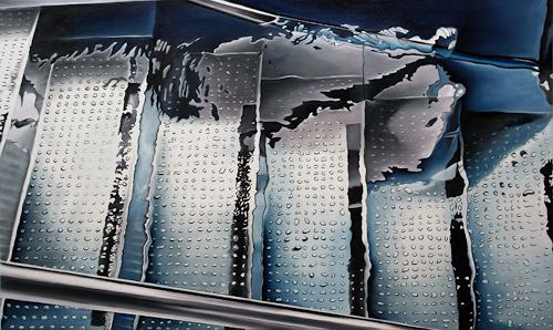 Alex Krull, o.T. (Exit), Sports, Decorative Art, Realism