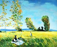 gawaju-Landscapes-Spring-Decorative-Art-Modern-Age-Impressionism