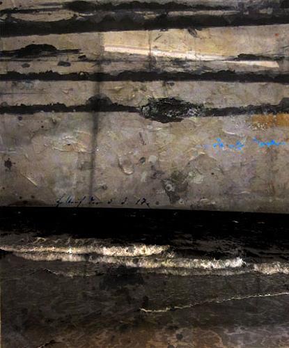 Holger Stroecks, 05.03.17, Landscapes: Sea/Ocean, Arte Cifra, Abstract Expressionism