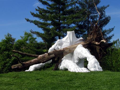 Tomasz Koclega, Pieta, People: Men, Nature: Wood, New Figurative Art, Abstract Expressionism