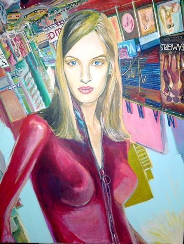 riacconi, uma thurman, People: Women, Pop-Art