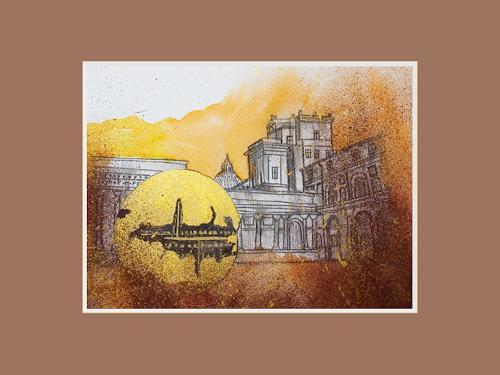 Ingrid TROLP, Vatikanisches Museum, Abstract art, Miscellaneous Buildings