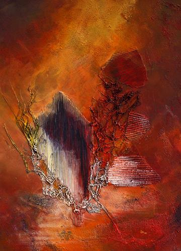 Ingrid TROLP, Nkosi sikelel' i Afrika (Gott segne Afrika), Abstract art, Emotions: Safety, Expressionism