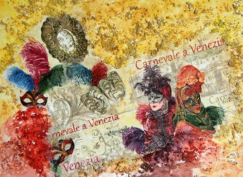 Ingrid TROLP, Carnevale - Il tempo dei segreti, Carnival, Parties/Celebrations, Contemporary Art