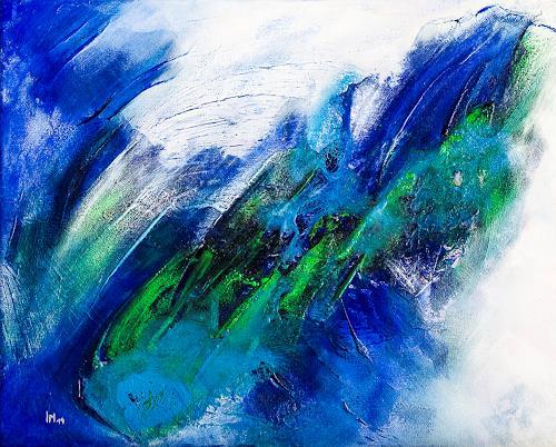 Ingrid TROLP, Meeresrauschen, Abstract art, Contemporary Art