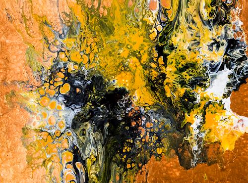 Ingrid TROLP, Amria - die rote Erde Marokkos, Abstract art, Nature: Earth, Contemporary Art, Abstract Expressionism