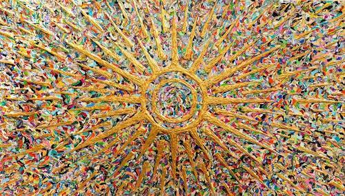 Ralf Hasse, Sonnengott,Sonne, Sonnenzeichen,sonnensymbol, Abstract art, Decorative Art, Conceptual Art