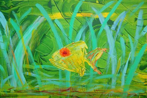Katharina Orlowska, underwater 1, Animals: Water