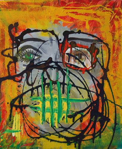 Katharina Orlowska, Lecters wife, People: Women, Abstract Expressionism