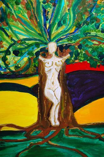 Katharina Orlowska, Ausschnitt, People: Women, Nature: Miscellaneous