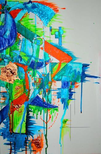 Katharina Orlowska, Fruits' Rebellion, Abstract art