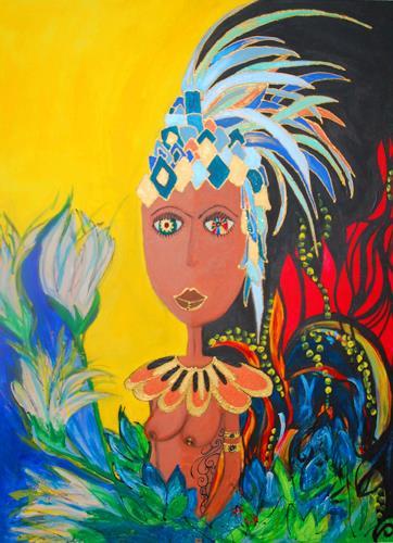 Katharina Orlowska, Welcome to the jungle, Erotic motifs: Female nudes, Nature: Miscellaneous