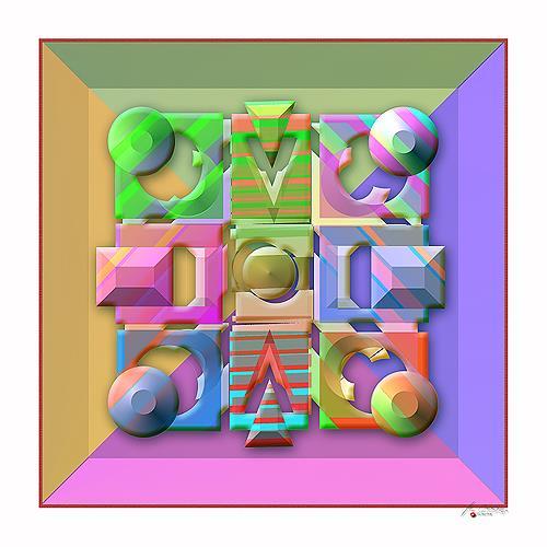 Marian Kuklinski, Minotaur, Decorative Art, Abstract art, Contemporary Art