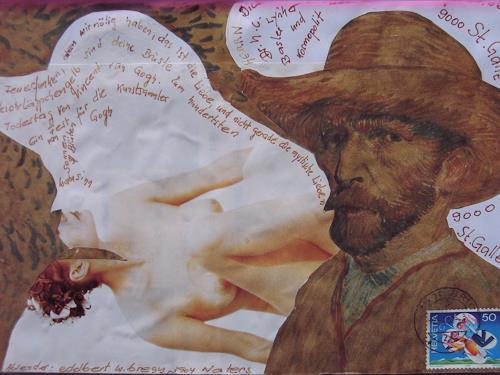 e.w. bregy, mail art, People: Men