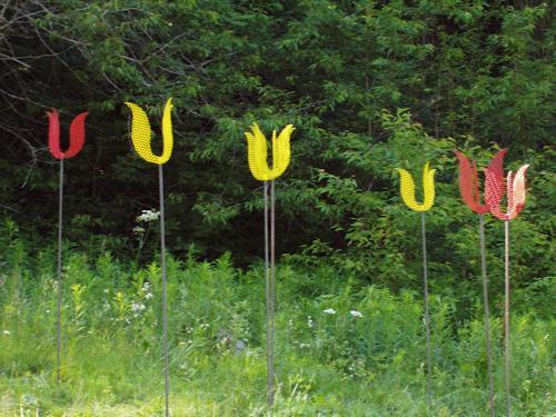 e.w. bregy, grengjier tulpen, Plants: Flowers, Abstract Art