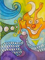 e.w.-bregy-Circus-Clowns