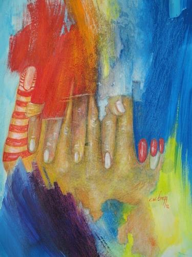 e.w. bregy, hand in hand, Fantasy